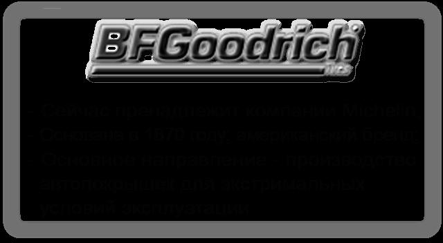 Шины Bfgoodrich (Резина БФ Гудрич)